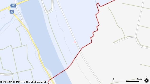 山形県最上郡大蔵村赤松907周辺の地図