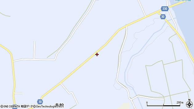 山形県最上郡大蔵村赤松2075周辺の地図