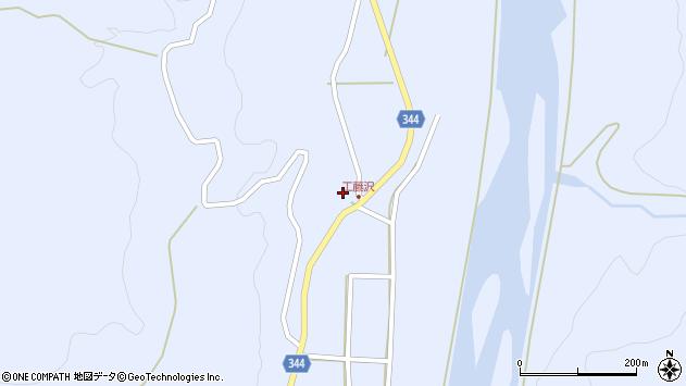 山形県東田川郡庄内町科沢真木坂60周辺の地図