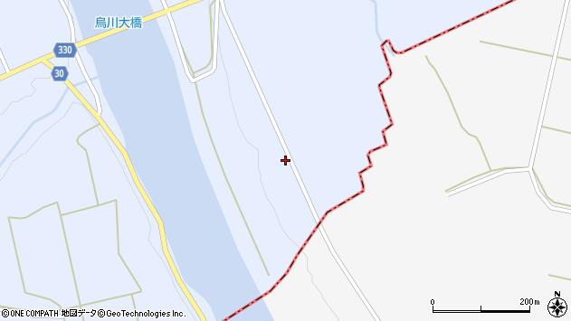山形県最上郡大蔵村赤松2522周辺の地図