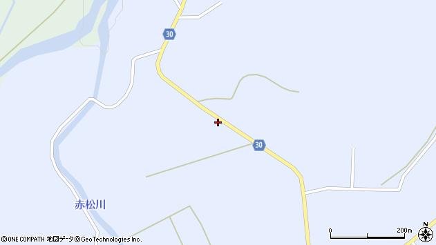 山形県最上郡大蔵村赤松739周辺の地図