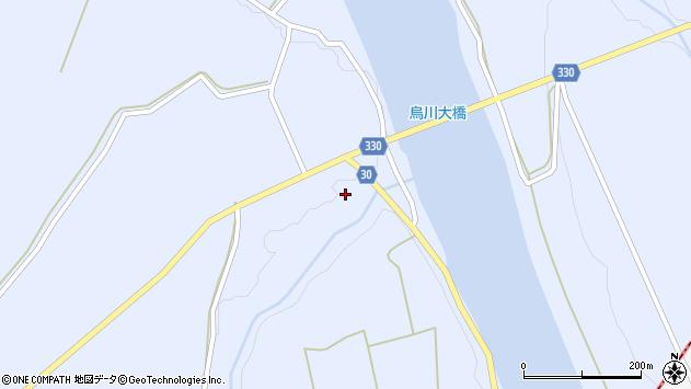 山形県最上郡大蔵村赤松904周辺の地図