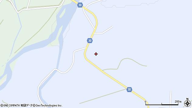 山形県最上郡大蔵村清水556周辺の地図