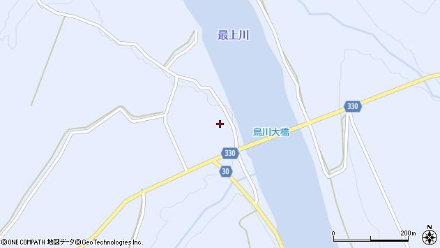 山形県最上郡大蔵村赤松970周辺の地図