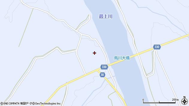 山形県最上郡大蔵村赤松1628周辺の地図
