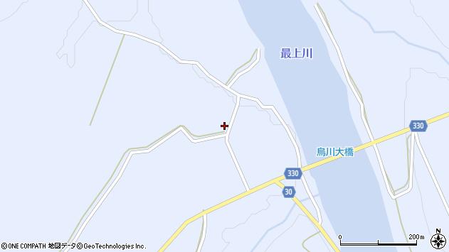 山形県最上郡大蔵村赤松1625周辺の地図