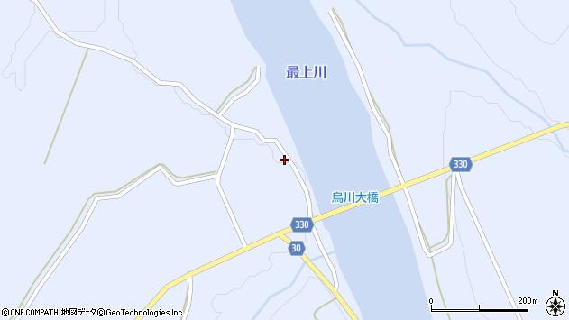 山形県最上郡大蔵村赤松976周辺の地図