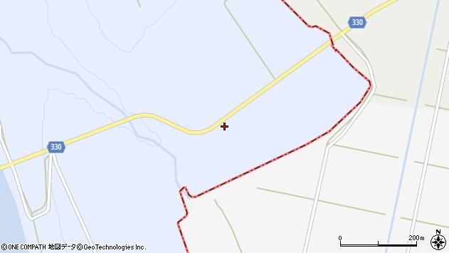 山形県最上郡大蔵村赤松2602周辺の地図