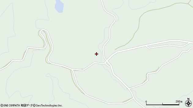 山形県最上郡大蔵村清水2097周辺の地図