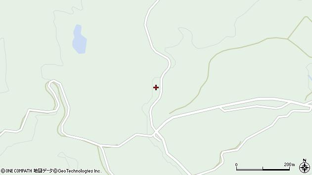 山形県最上郡大蔵村清水3266周辺の地図