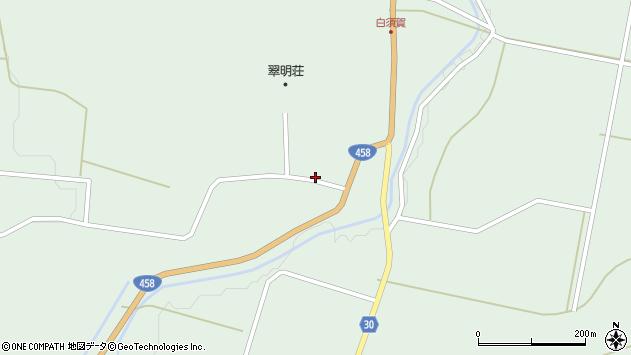 山形県最上郡大蔵村清水1529周辺の地図