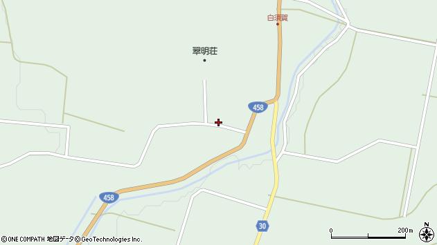 山形県最上郡大蔵村清水2996周辺の地図