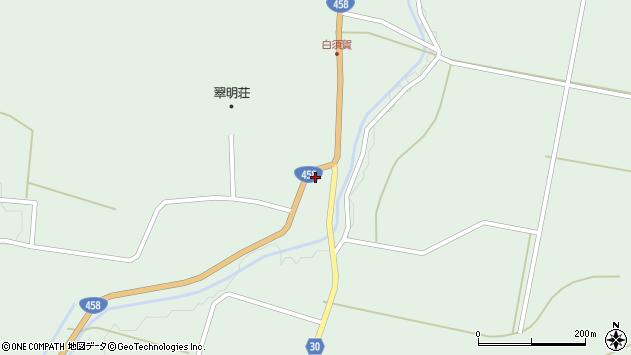 山形県最上郡大蔵村清水1526周辺の地図