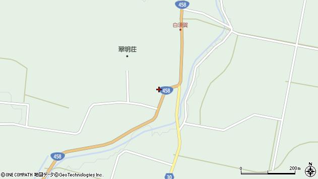 山形県最上郡大蔵村清水1524周辺の地図