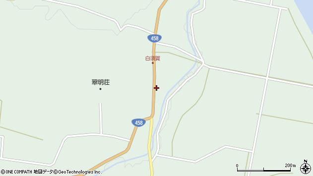 山形県最上郡大蔵村清水1507周辺の地図