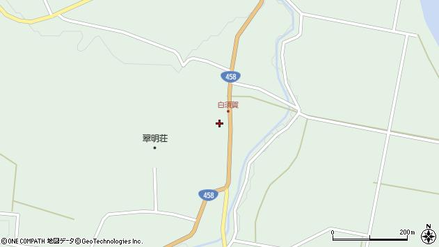 山形県最上郡大蔵村清水1501周辺の地図