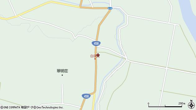 山形県最上郡大蔵村清水1488周辺の地図