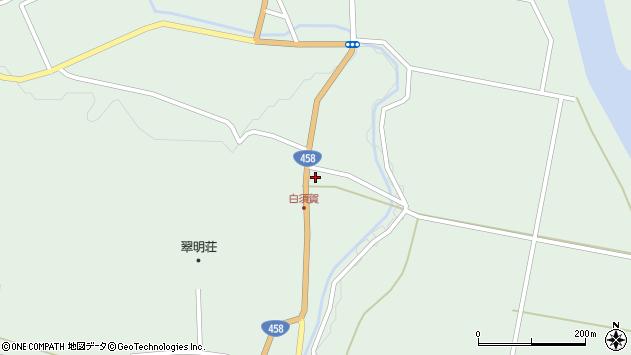 山形県最上郡大蔵村清水1485周辺の地図