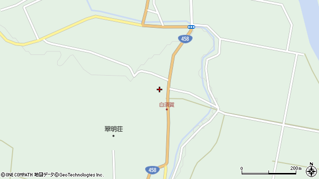 山形県最上郡大蔵村清水1482周辺の地図