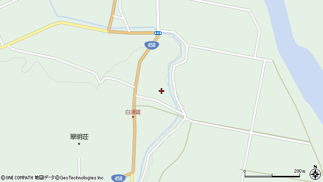 山形県最上郡大蔵村清水1474周辺の地図