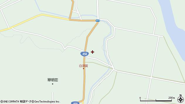 山形県最上郡大蔵村清水1472周辺の地図