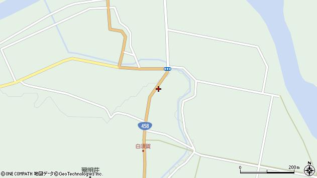山形県最上郡大蔵村清水1465周辺の地図