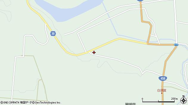 山形県最上郡大蔵村清水1435周辺の地図