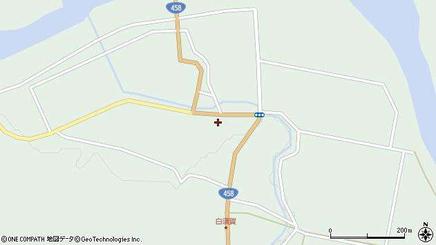 山形県最上郡大蔵村清水1386周辺の地図