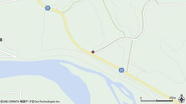 山形県最上郡大蔵村清水5292周辺の地図