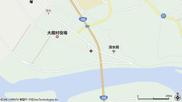 山形県最上郡大蔵村清水2260周辺の地図