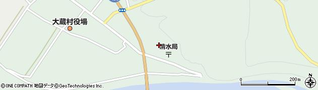 山形県最上郡大蔵村清水5194周辺の地図