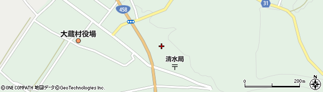 山形県最上郡大蔵村清水3439周辺の地図