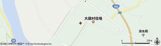 山形県最上郡大蔵村清水2396周辺の地図
