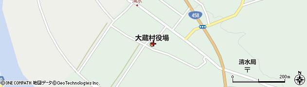 山形県最上郡大蔵村周辺の地図