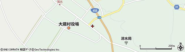 山形県最上郡大蔵村清水2578周辺の地図