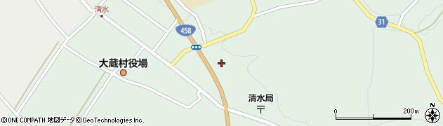 山形県最上郡大蔵村清水5238周辺の地図