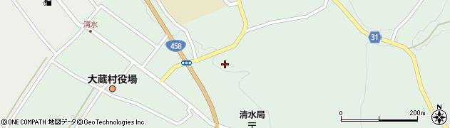 山形県最上郡大蔵村清水2883周辺の地図