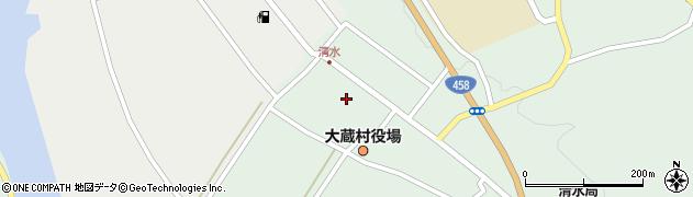 山形県最上郡大蔵村清水2518周辺の地図
