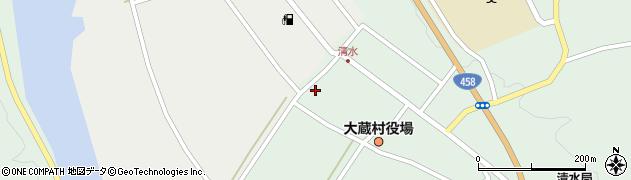 山形県最上郡大蔵村清水4154周辺の地図