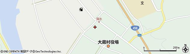 山形県最上郡大蔵村清水2506周辺の地図