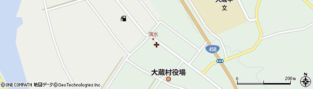 山形県最上郡大蔵村清水2512周辺の地図