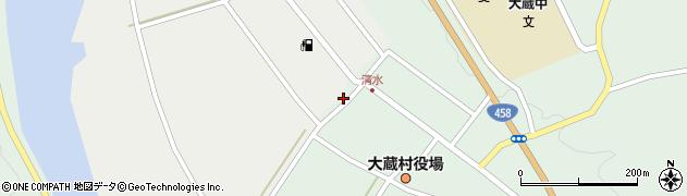 山形県最上郡大蔵村合海5周辺の地図