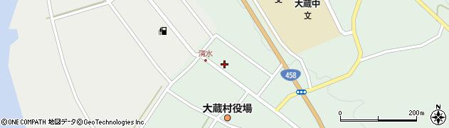 山形県最上郡大蔵村清水2598周辺の地図