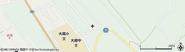 山形県最上郡大蔵村清水3427-38周辺の地図