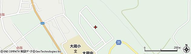山形県最上郡大蔵村清水3427-34周辺の地図