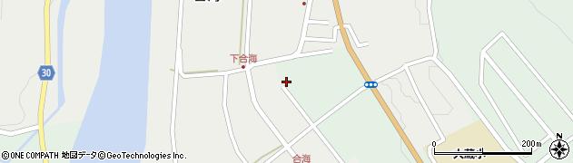 山形県最上郡大蔵村合海2878周辺の地図