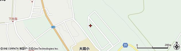 山形県最上郡大蔵村清水3427-41周辺の地図