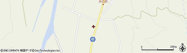 山形県東田川郡庄内町肝煎砂田周辺の地図