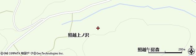 宮城県栗原市築館照越伊勢沢周辺の地図