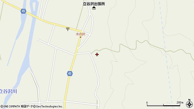 山形県東田川郡庄内町肝煎福地山本15周辺の地図